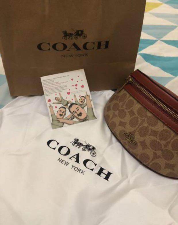 Coach waist bag
