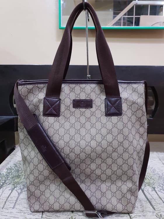 e5958779e0d1 Gucci 2-Way Bag, Luxury, Bags & Wallets, Handbags on Carousell