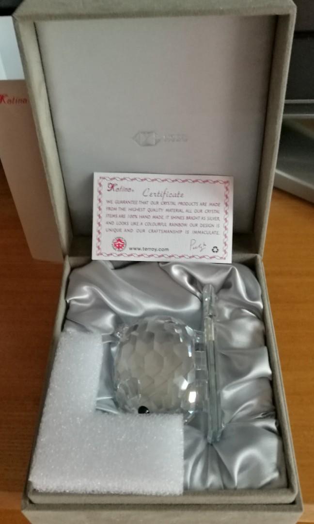 HSBC Katina 手工製造水晶豬