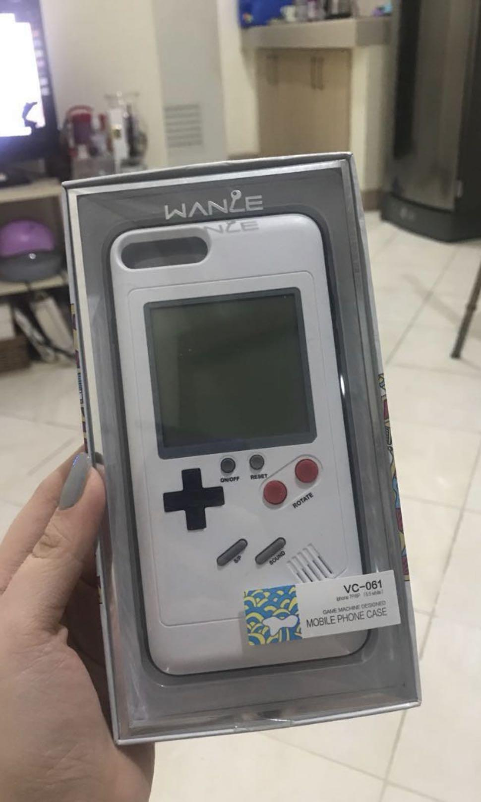 big sale 95a57 a4477 Iphone 7/8 Plus Case Tetris Game on Carousell