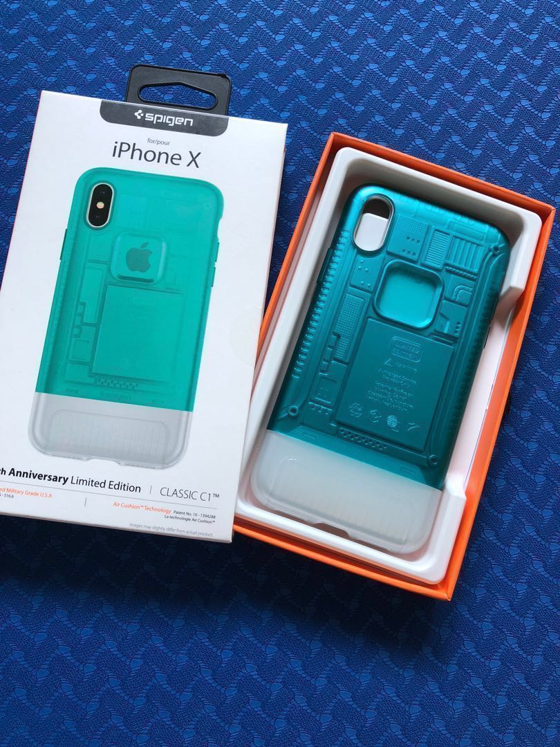pretty nice 11a5c 7c0db iPhone X Spigen 10th Anniversary Classic C1 case