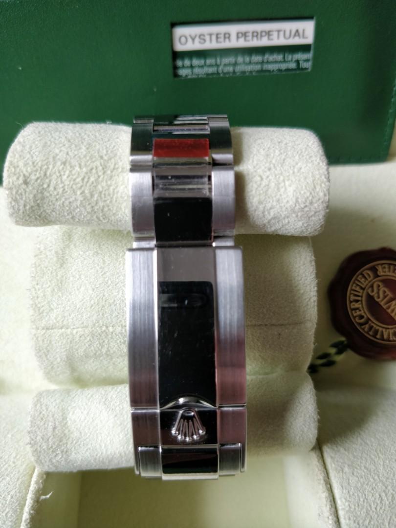 Jam Tangan Rolex Rolex Daytona 116520 Black Dial Blue Chromalight (Discontinued) 2014