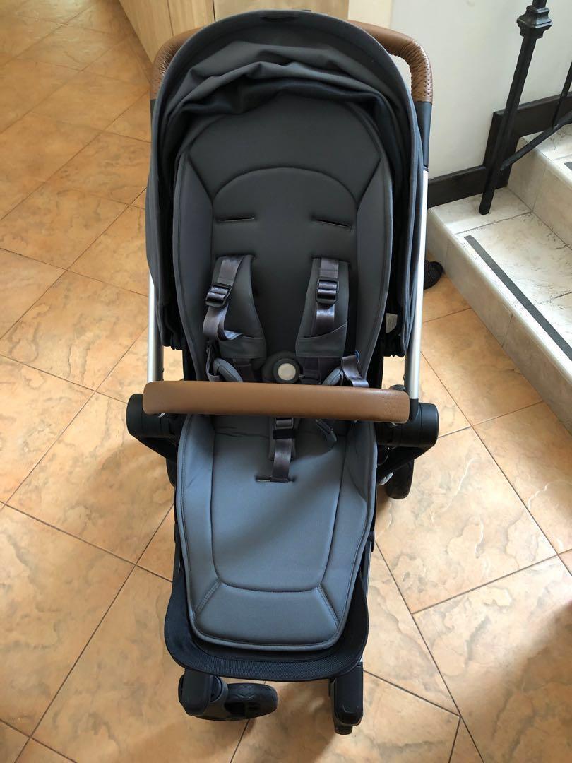 Joolz Hub Earth Collection Hippo Grey Stroller Babies