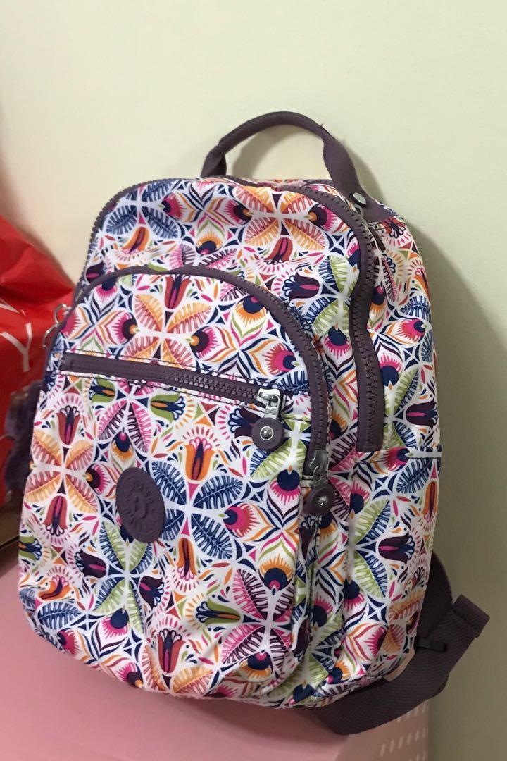 fb957149716 Kipling Seoul S backpack, Women's Fashion, Bags & Wallets, Backpacks ...
