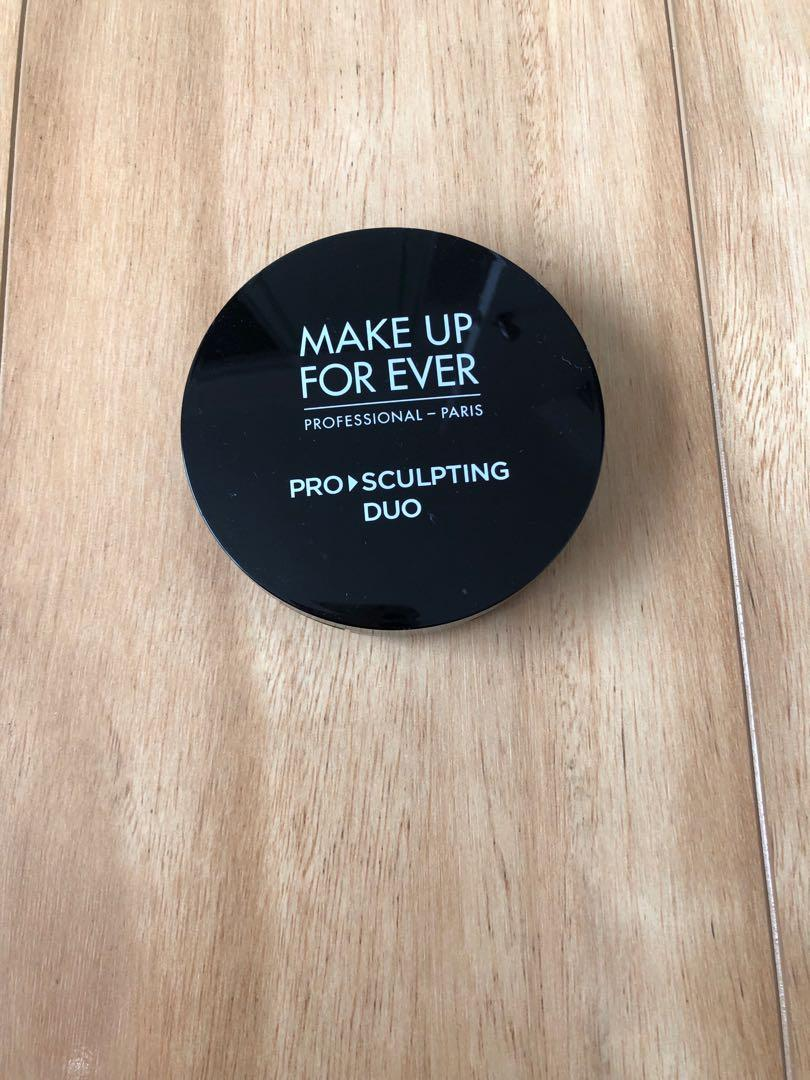 Makeup Forever Pro Sculpting Duo Undectable Face Contour (1 Pink Beige Duo)
