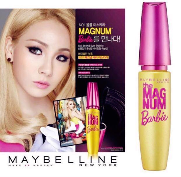 ceeb3e84867 Maybelline The Magnum Barbie Mascara, Women's Fashion, Clothes, Tops ...