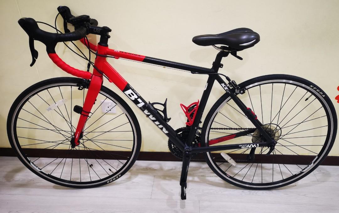 Men road bike - Btwin Triban 520