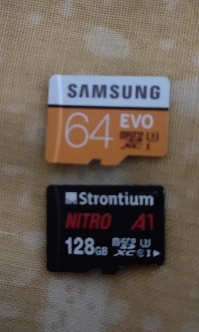 Micro SD Cards (64gb & 128gb)