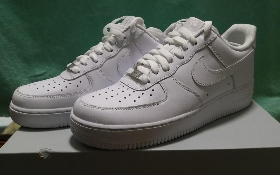 huge selection of a6cf9 70fe1 Nike air force 1 af1 low white, Men's Fashion, Footwear ...