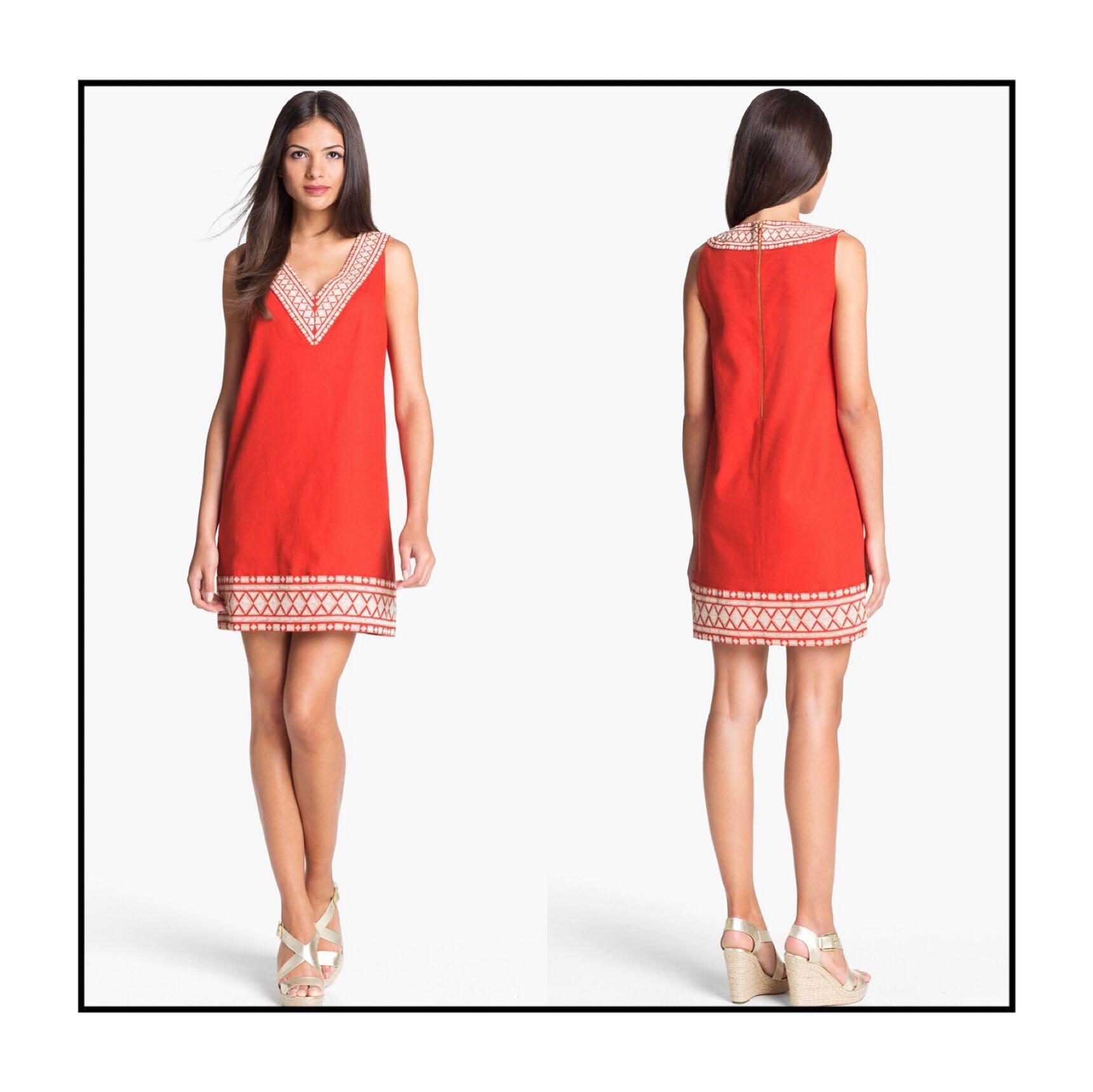 *NWT✨* kate spade 63% Linen 37% Cotton Laureen Dress Women Size 4