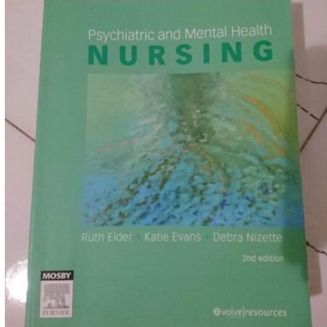 Psychiatric and Mental Health Nursing By Ruth Elder, Katie Evans