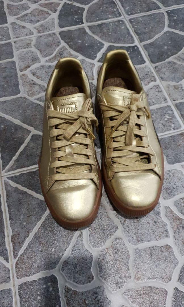 Puma all gold, Women's Fashion, Shoes