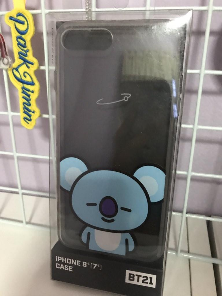 [READY STOCK] BT21 PHONE CASE - KOYA (iPHONE 8+/7+)