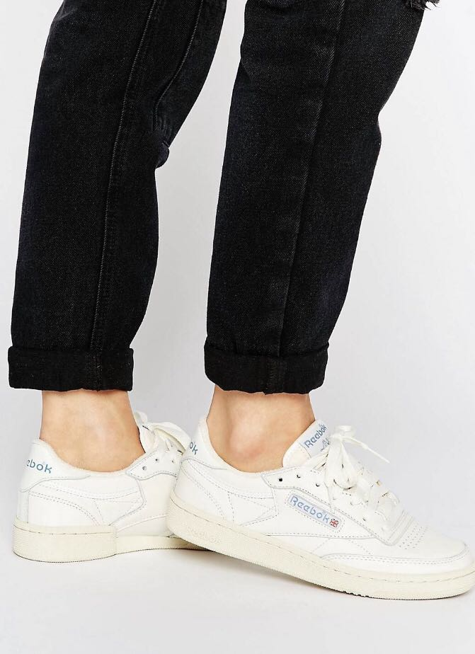 online store 6339c 3293c reebok club c 85 vintage court trainer in chalk, Women s Fashion, Shoes,  Sneakers on Carousell