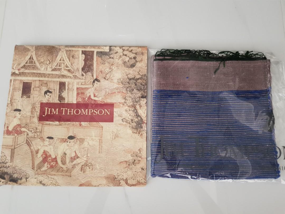 Scarf jim thompson