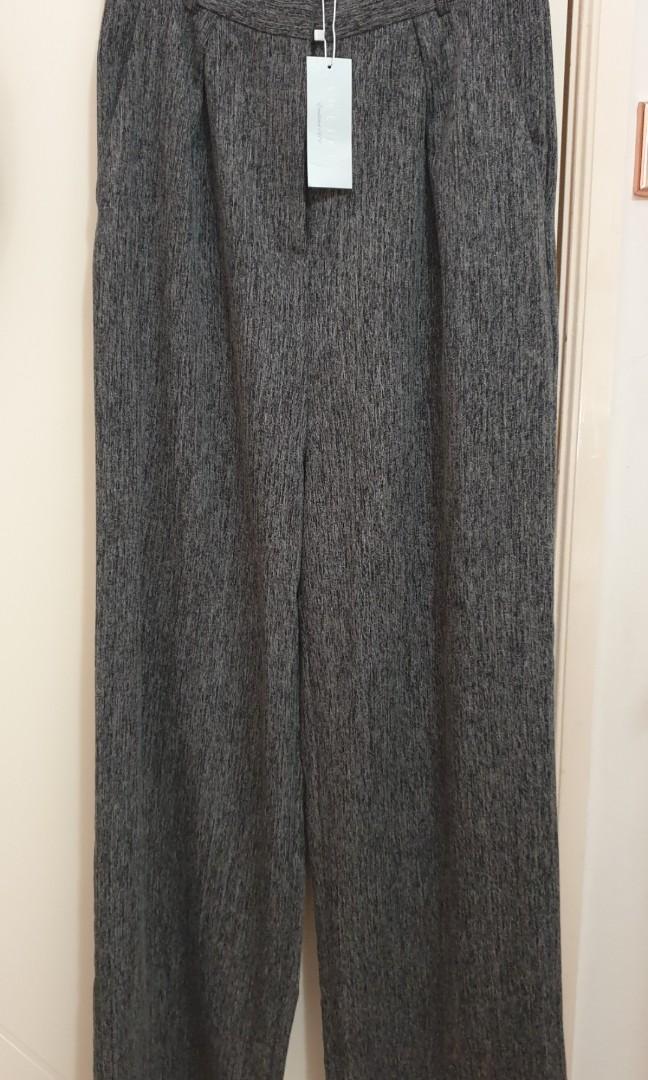 Sheike 'Courtney' wide-leg high-waisted pants sz 10 8