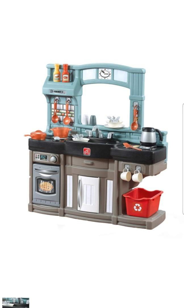 Step2 Best Chef S Toy Play Pretend Kitchen Playset With