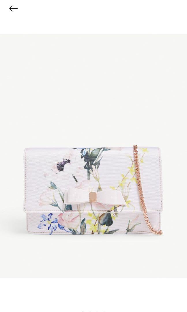 c131011b730 Ted Baker Hania floral print crossbody bag, Luxury, Bags & Wallets ...