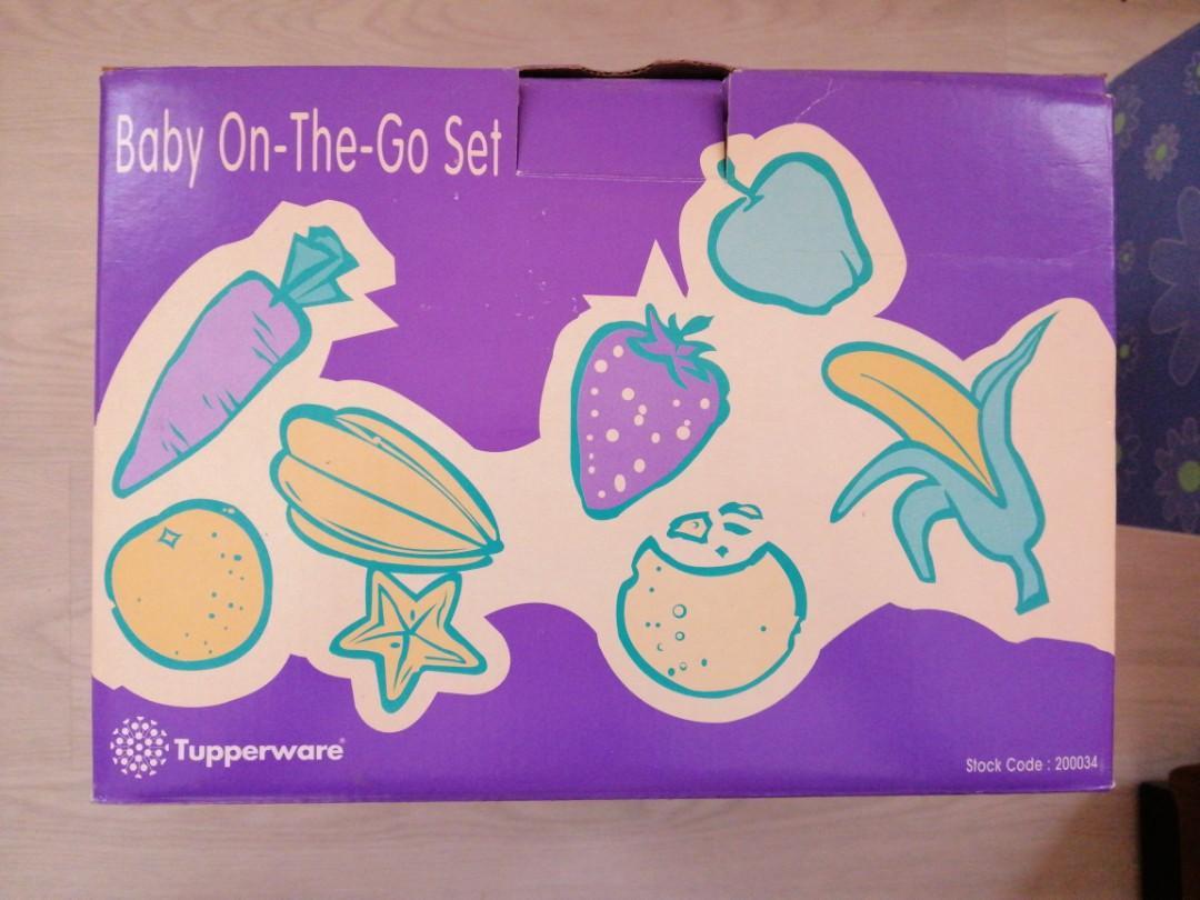 Tupperware Baby On-The-Go Set