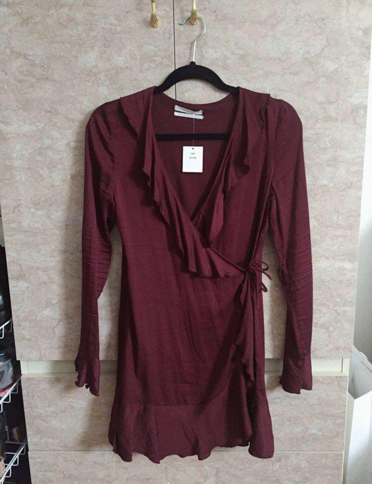 Urban Outfitters 🍷 Wrap Dress