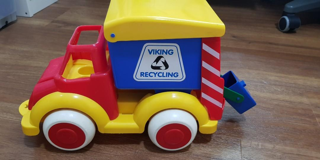 Viking toy rubbish truck used