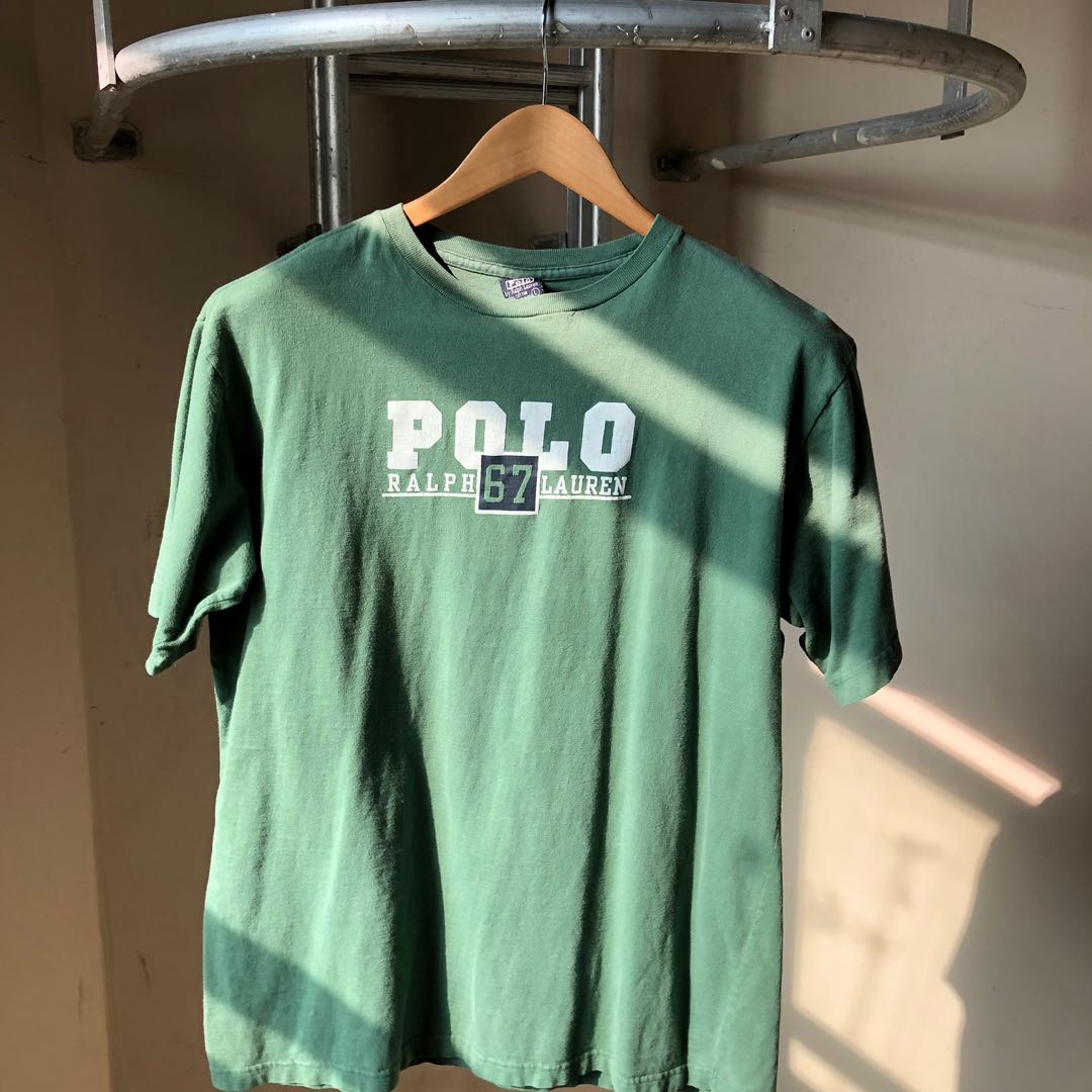 36b1f1a6 Vintage Polo Ralph Lauren Tee, Men's Fashion, Clothes, Tops on Carousell