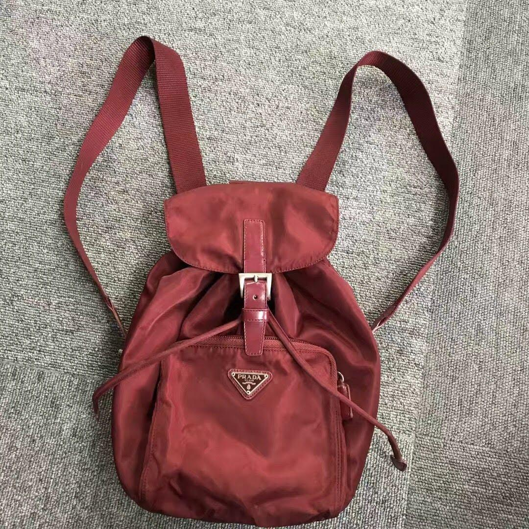 Vintage Prada Parachute Series Mini Shoulder bag Backpack purchased in 2017 in Tokyo, Japan