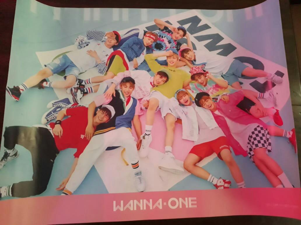 Wanna One 1st Mini Album <1x1=1[To Be One]> Pink Ver. Sealed