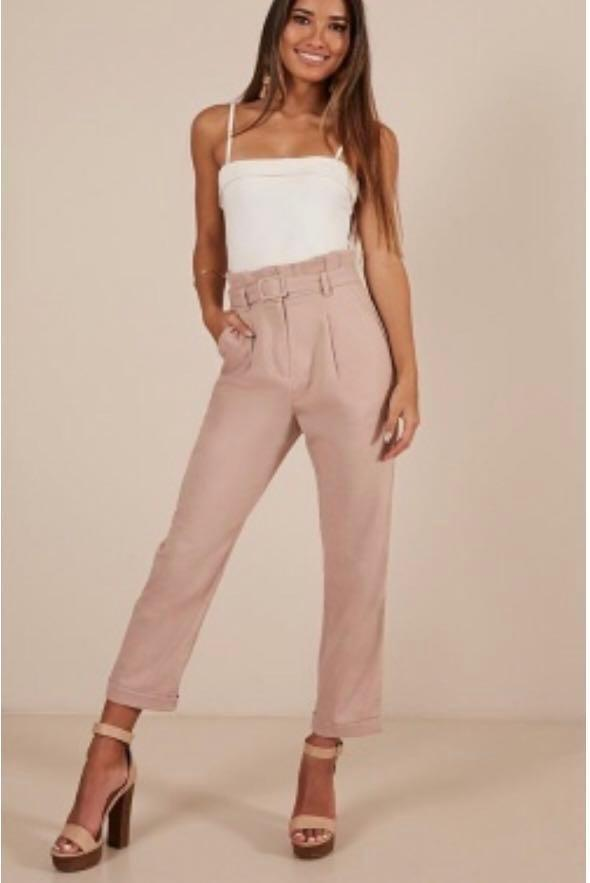 Women's high waisted pants size 18