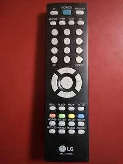 LG 原裝電視遙控