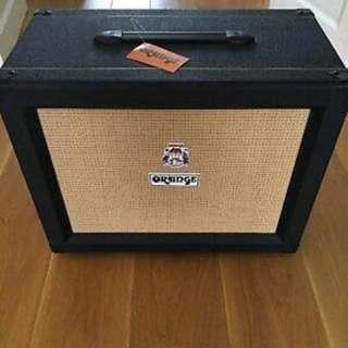 Orange speaker cabinet PPC112