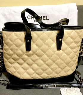 Preloved Chanel Gabrielle (w/flaws) Large Hobo Convertible Bag
