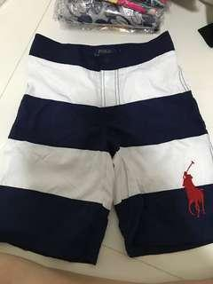 Polo ralph lauren navy strip short