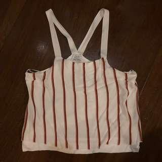 Zara Striped Hanging Top