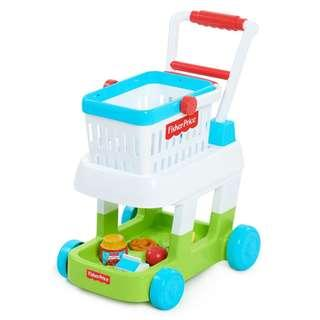 🚚 ~Ready Stocked~ Fisher-Price Shopping Cart Toys, Multicolor