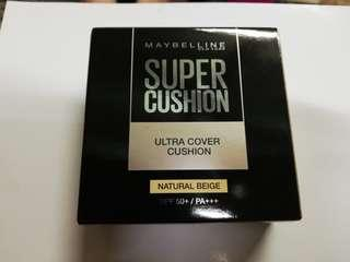 Maybelline Super Cushion Ultra Cover SPF50+ /PA+++ 14g [2 Colors To Choose]