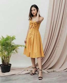 Mustard yellow dress NEW