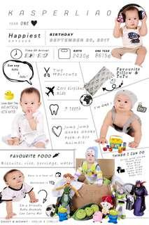 Baby infographic