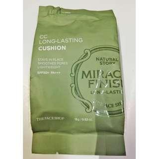 CC Long-Lasting Cushion SPF50+ PA+++ V201 Refill (Miracle Finish)