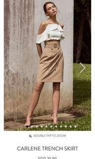 🚚 Brown long skirt formal