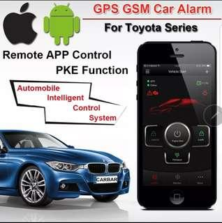 car smart start using phone