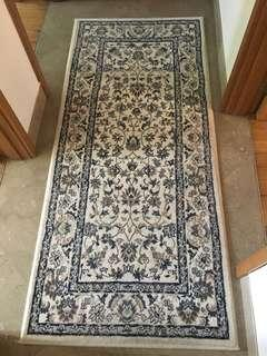 Rug runner perfect for the hallway