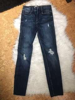 Zara high waist jeans - size 6