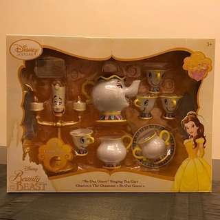 "Beauty & the Beast ""Be Our Guest"" Singing Tea Cart Play Set"