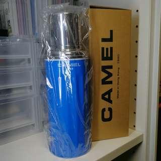 Camel 暖水壼 藍色