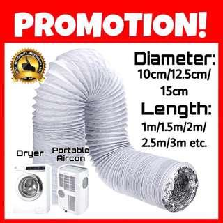 Hose for dryer/portable aircon/kitchen hood and more! Vent/duct/ducting/pipe