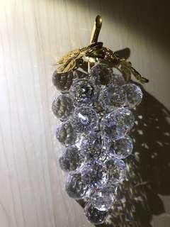 99%new施華洛世奇水晶葡萄串