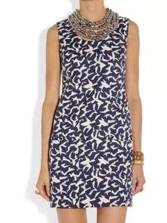 🚚 New DVF Diane von Furstenberg Noralie Embellished Twill Dress
