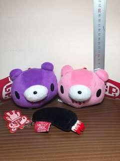 Taito Gloomy Bear Set Plush Toy / Soft Toy (Plush Toy Keychain)