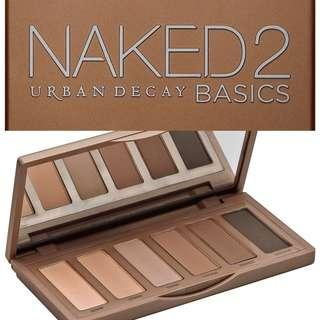 URBAN DECAY Naked2 Basic eyeshadows palette